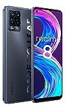 Realme 8 Pro Smartphone 8+128GB,108 MP Quad Fotocamera,180Hz 6.4 Pollici AMOLED Schermo Cellulare,50W Ricarica...