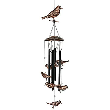 VP Home Soothing Songbirds Outdoor Garden Decor Wind Chime