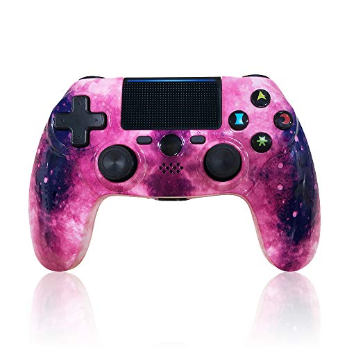 CHENGDAO PS4 Controller Wireless Cyberpunk Style Bluetooth High Performance Dual Shock Controller for Playstation 4/Pro/Slim/PC with Led Bar, Multi-Touch Clickable Touch Pad