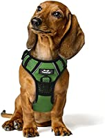NEW REFLECTIVE DESIGN - Reflective ribbon covers the whole TwoEar harness, including the chest and back. When you have a walk with your pets at night, others can distinguish you quickly from the darkness. Ensuring the safety of you and your dog. NO P...