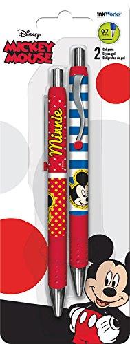 Inkworks Disney Mickey & Minnie Mouse Gel Pens 2 Pack