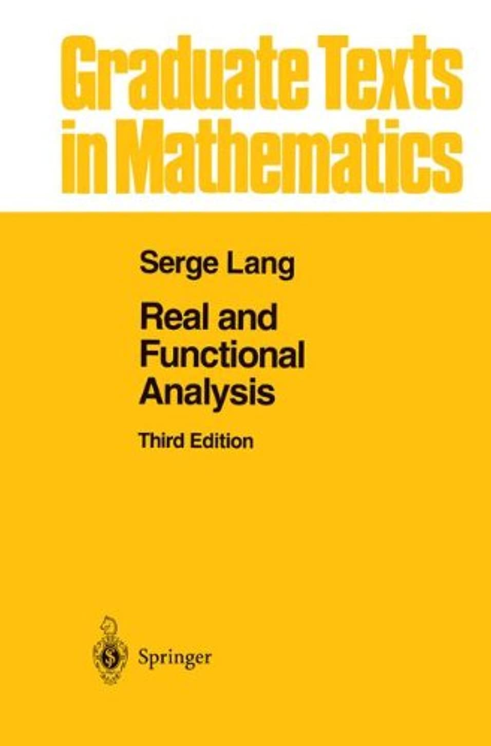 おしゃれな高度小麦粉Real and Functional Analysis (Graduate Texts in Mathematics)