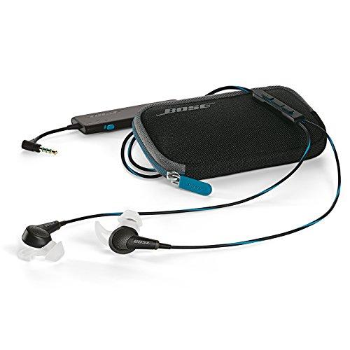 Bose Écouteurs Intra-auriculaires à Réduction du Bruit QuietComfort 20 - Apple - Noir