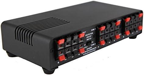 Top 10 Best 4 channel speaker selector amplifier