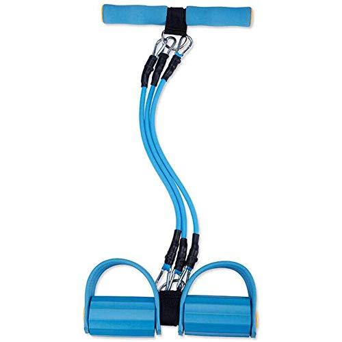 Z-LIANG Extensor de Pecho Pecho ejercitador for los Hombres - 3-en-1 de tensión Ajustable Cuerda elástico Desmontable de Goma Resistencia Cinturón