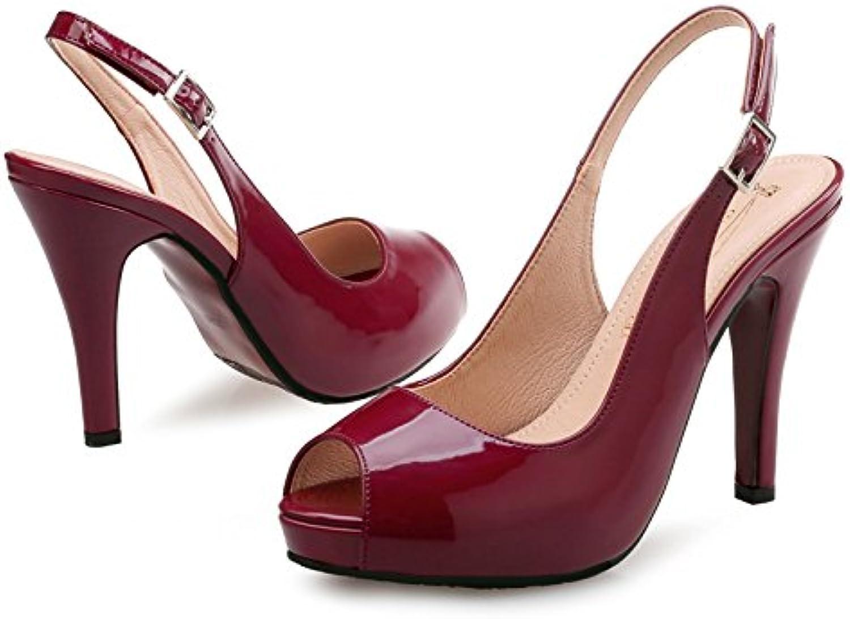 GAOLIM Thin Heel High Heel Sandals Women Summer Naked High Heels 41-43 Big shoes