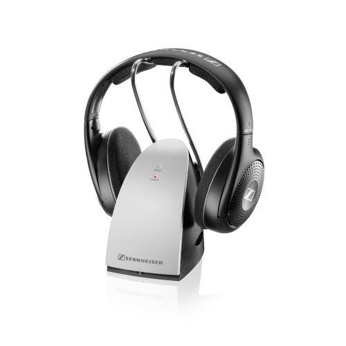 Sennheiser RS 120 II Kopfhörer (Ohraufliegend, Kopfband, Kabellos, 22 - 19500 Hz, 106 dB) schwarz/silber