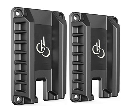 DB Quick withdraw Gun Magnet Mount 2 PCS, 15.4 lbs Rating,Quick Loaded Magnetic Gun Holster|Concealed Gun Holder for Flat top Handguns, Using in Vehicle, Trucks, Car, Wall, Desk