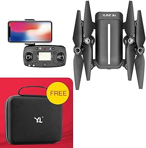 comprar mejor Drone con con con 1080p HD Camera Live Video, Dual GPS Posicionamiento Retorno de Alta Velocidad Resistencia al Viento Quadcopter Real Incluye batería  compras en linea