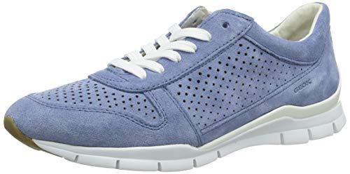 Geox D Sukie B, Zapatillas Mujer, Azul (Lt Blue C4003), 35 EU