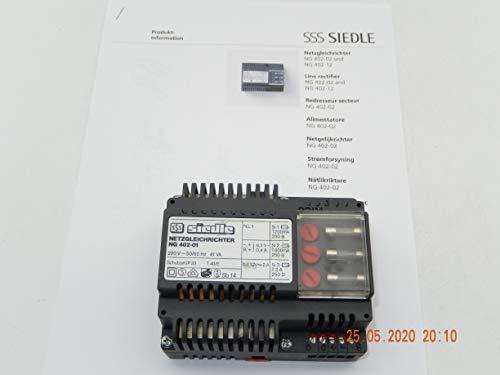 SIEDLE NG 402-01 Netztrafo für Sprechanlage, offiziell unbenutzt & NEU ohne OVP