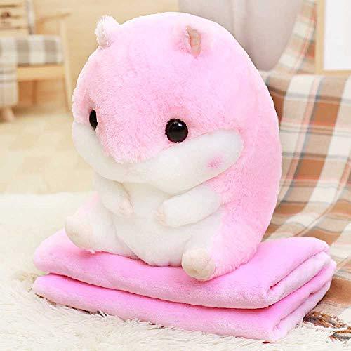 ZHIMENG Kissen Hamster Halten Kissen, Teppiche, Spielzeug, Kissen. 40cm1*0.8m/Pink