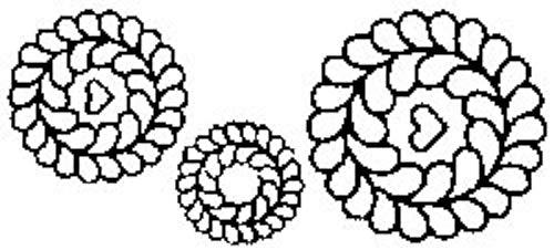Quilt Schablonen 7. 12.70