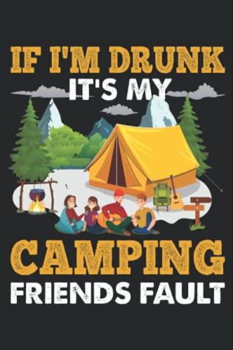 Camping, quaderno: Registra tutte le idee, pensieri, suggerimenti e trucchi importanti in questo taccuino che puoi scrivere tu stesso sotto forma di diario o diario di bordo.