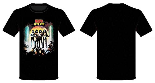 KISS LOVE GUN TS SMALL
