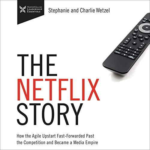 The Netflix Story cover art