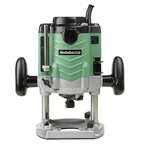 Metabo HPT M12VEM 3-1/4 HP Variable Speed Plunge Router with 1/2 in. Collet
