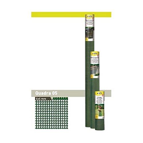 Tenax QUADRA 10 Filet de Protection Multi-usages, Argent, 3000x0,1x100 cm