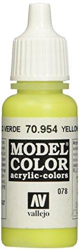 Vallejo Modèle Couleur 17 ml Arylic Peinture – Jaune Vert FS 30160