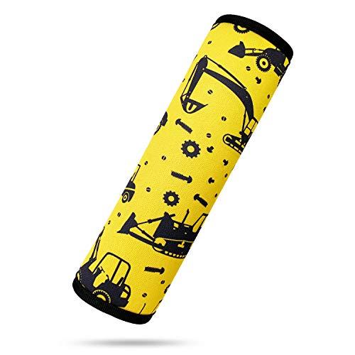 Almohadilla para cinturón de seguridad infantil, almohadilla para cinturón de seguridad para niños, para coche y mochila, 1 unidad