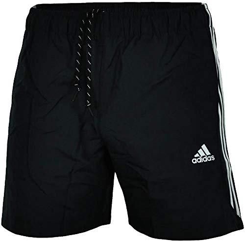 adidas 3 Bandes Chelsea Sport Essentials Short Homme Noir FR : XL (Taille Fabricant : XL)