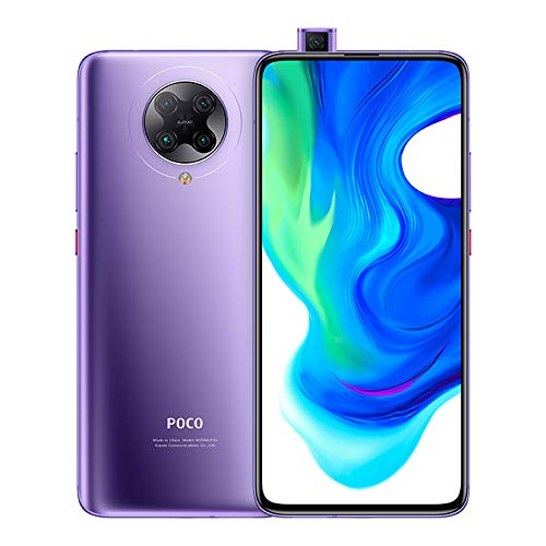 "Xiaomi Poco F2 Pro Smartphone,6GB RAM 128GB ROM 5G Teléfono,6.67"" Todo Pantalla AMOLED Qualcomm Snapdragon 865 Processor Global Version(Morado)"