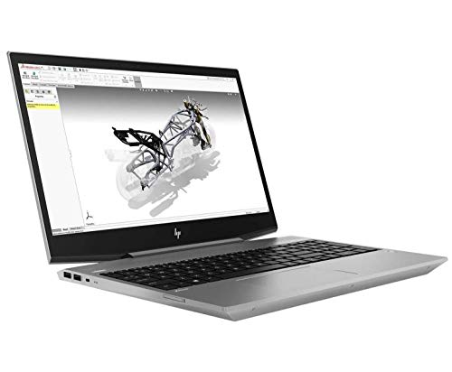 "HP Zbook 15V G5 15.6"" FHD (1920x1080) Mobile Workstation Laptop (Intel Six-Core i7-8750H, 64GB DDR4 RAM, 2TB PCIe NVMe SSD+2TB HDD) Fingerprint, Backlit, Type-C, Thunderbolt 3, Windows 10 Pro 64-bit"