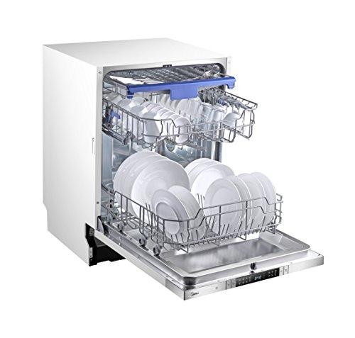 Midea SV 7.60 Geschirrspüler Vollintegriert / 237 kWh/Jahr / 2800 L/jahr / Eco Line / Flex Drawer