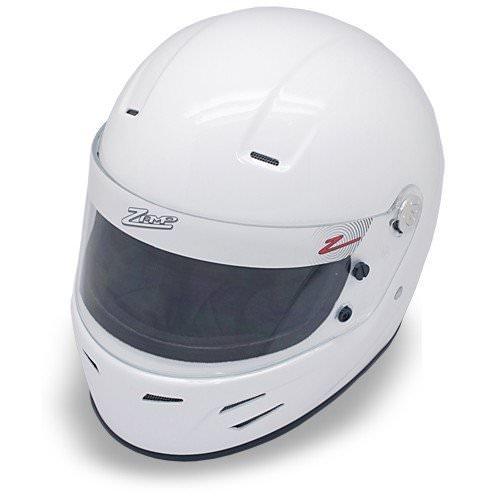 Zamp FSA-3 Auto Full Face Snell SA2015 Helmet White Large