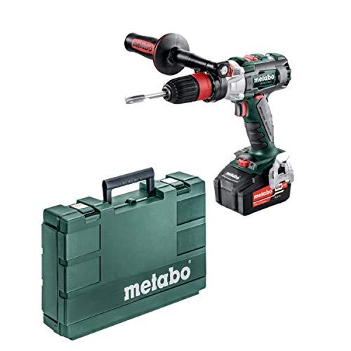 Schlagbohrmaschine / Schlagbohrschrauber SB 18 LTX BL Q I | + Schnellbohrfutter, Bithalter, Handgriff, 2 Akkus, Ladegerät (LiHD 18V 5,5Ah | 120Nm 2,7 Kg)