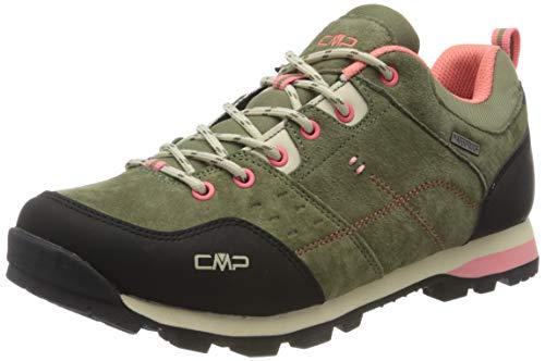 CMP – F.lli Campagnolo Damen Alcor Low Wmn Shoes Wp Trekking- & Wanderhalbschuhe, Grün (KAKI F854), 39 EU