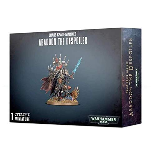 Games Workshop Chaos Space Marine - Abaddon The Despoiler