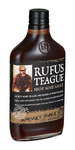 Rufus Teague Sauce BBQ Whiskey Ahorn