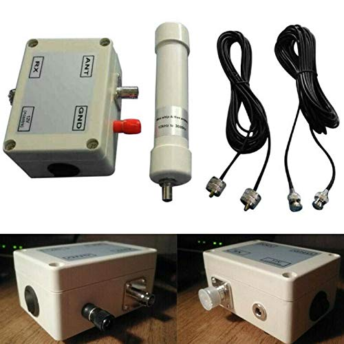 CALIDAKA Active Antenna Portable Radio Mini Whip in Box Vehicle VLF LF HF VHF Sdr RX Aerial Shortwave sy Install Assembled Amplifier 10KHz to 30MHz