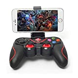 MEESA V8 Wireless BT4.0 Bluetooth Wireless Gaming Controller, Joystick Gamepad Computer Game Controller for PC Windows 7/8/10/Switch/TV Box/Laptop/Smart Phones(ANDROID/IOS)(Black)