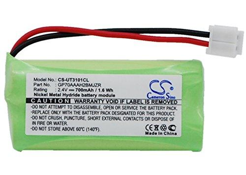 2.4V Battery Replacement for V Tech DS61215 80-1326-00-00 CS6229-4 LS6205 831 6041 DS6211-3 DS6221 DS6201 DS6321 8013260000 BATT-6010 8913300000 BT284342 8913260000 8913350000 BT184342 700mAh