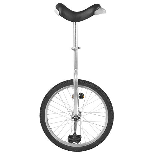 M-Wave U20 Monociclo, Rueda de 20, Color Negro, Unisex, Plat