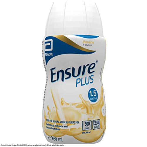 15 x Ensure Plus Vanilla 200 Milliliters
