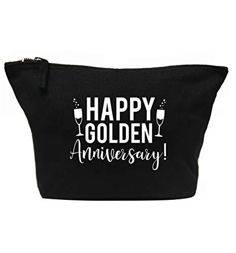 Flox Creative Trousse à maquillage Golden Anniversary