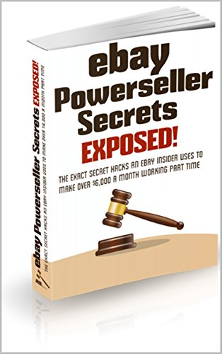 Amazon Com The Secret To Selling On Ebay The Exact Secret Hacks An Ebay Insider Uses To Make Over 6 000 A Month Working Part Time This Book Is Very Important Ebook Ali Hudson