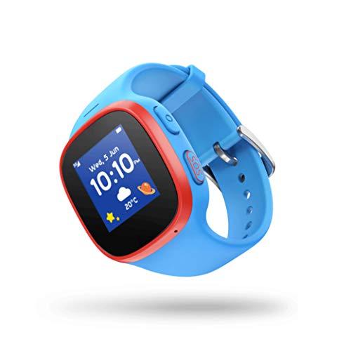V-Kids Watch by Vodafone - Smartwatch mit GPS-Tracker und SOS-Alarmknopf, blau inkl. 3 Monate Servicegebühr gratis