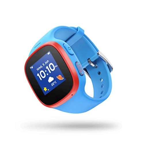 V-Kids Watch By Vodafone, Smartwatch Met Gps-Tracker En Sos-Alarmknop, Blauw