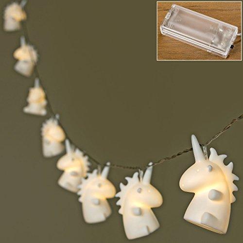 Boltze Lichterkette Magic Unicorn mit 8 LEDs