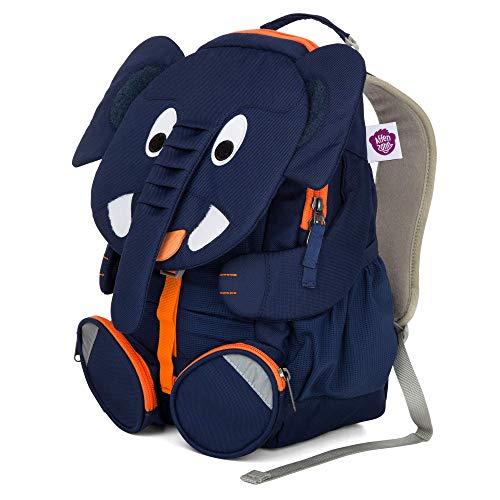 Affenzahn Kindergarten Backpack Large Friends Blue Elias Elephant