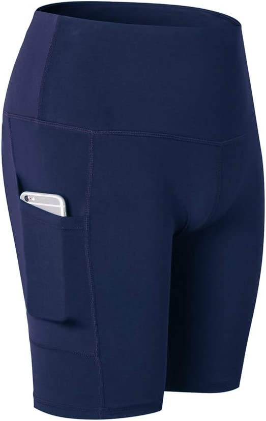 CapsA Women High Waist El Paso Clearance SALE! Limited time! Mall Yoga Short Tummy Control with Pocket Work