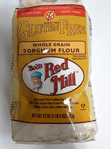 Bob's Red Mill Gluten Free Whole Grain Sorghum Flour, 22 Ounce