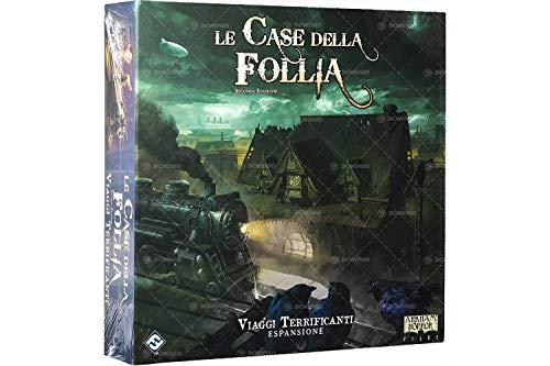 Asmodee Italia Le Case von Follia 2a Edio: Terrificanti Reisen, Brettspiel, Colore, 9406