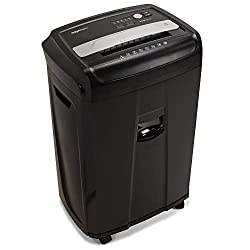 Best Paper Shredder for office use - AmazonBasic 17 Sheets Shredder