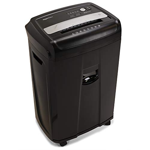 Amazon Basics 17-Sheet High-Security Micro-Cut Paper, CD and Credit Card Home Office Shredder