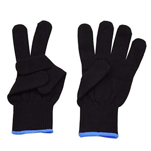 1 par de guantes de protección contra el calor, guantes de peluquería resistentes al calor, guantes térmicos de algodón, antideslizantes, cómodos y resistentes al calor para riñones